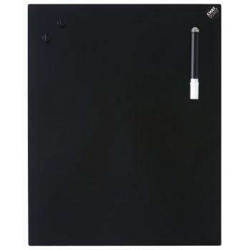 CHAT BOARD glastavle i 14 størrelser - sorte/grå nuancer