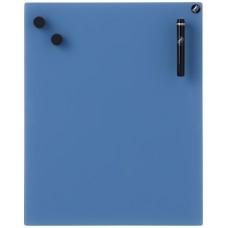 CHAT BOARD glastavle i 14 størrelser - blå/turkis nuancer