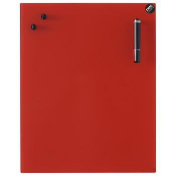 CHAT BOARD glastavle i 14 størrelser - røde/gule nuancer