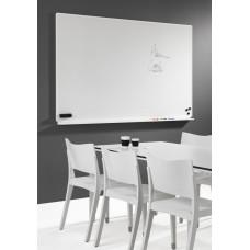 Halvmat whiteboard til intensiv brug og projektion - RESTPARTI