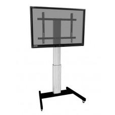 Højdejusterbart mobilt TV og monitor stativ