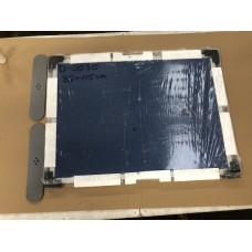 Demovare - Camira opslagstavle/rumdeler. blå 85 x 115 cm | ben medfølger