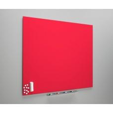 Whiteboard diamant rød, fås i 3 størrelser
