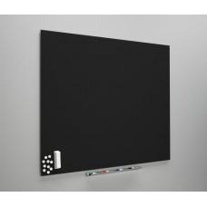 Whiteboard diamant sort, fås i 3 størrelser