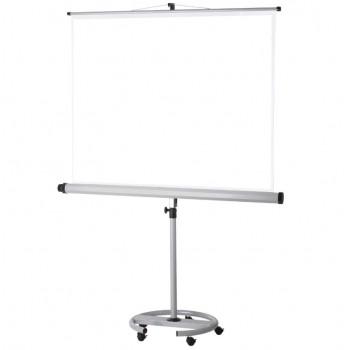 Mobilt projektorlærred – Format 1:1  – 180 x 180 cm