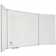 Whiteboard med 2 låger (5 sider), kan aflåses