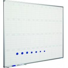 Planlægningstavle - Årskalender med uger