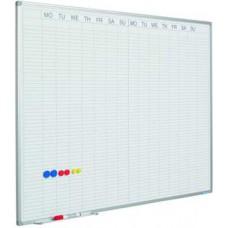 Planlægningstavle - Ugekalender, 2 uger