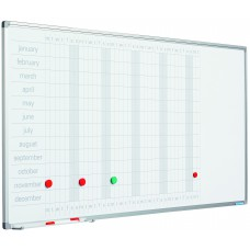 Planlægningstavle - Årskalender med dage