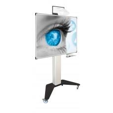 Whiteboardtavler til projektion, interactiv, med mobilt stativ