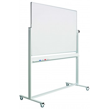 Svingtavle, whiteboardtavle til intensivt brug på mobilt stativ - 8 størrelser