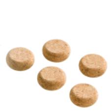 Lintex natur kork pakke med 5 stk