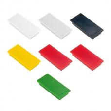 Magneter 23x50mm pakke med 10 stk.