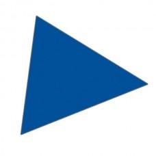 Magnet trekant 2x2 cm (49 stk pr. ark)