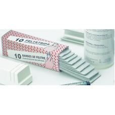 Ekstra filtplader til magnetisk visker - 10 stk.