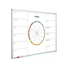 Design en whiteboardtavle med dit eget motiv/mønster