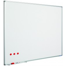 Whiteboard med alu ramme til intensiv brug, vælg mellem 25 størrelser